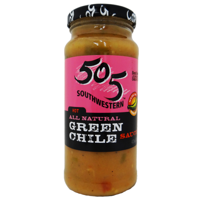 Medium Green Chile Sauce, All Natural