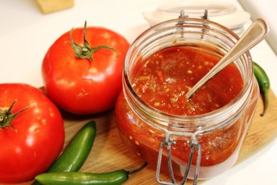 Tomato Sauce, Mexican Hot Style