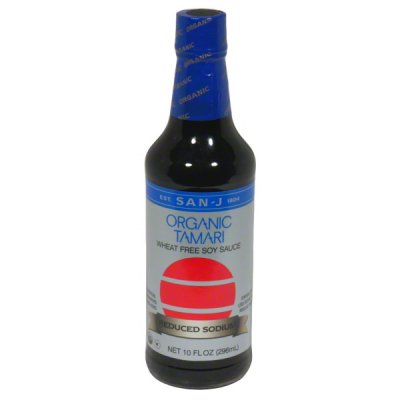 Wheat Free Soy Sauce, Organic Tamari, Reduced Sodium