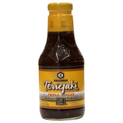 Teriyaki Sauce, Triple Ginger