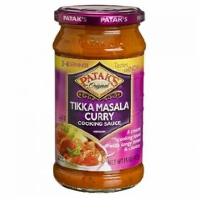 Cooking Sauce, Tikka Masala Curry, Medium