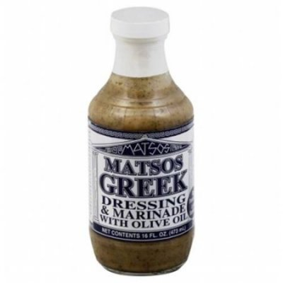 Matsos Greek Dressing & Marinade With Olive Oil