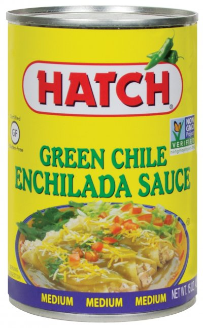 Enchilada Sauce, Green Chile, Medium