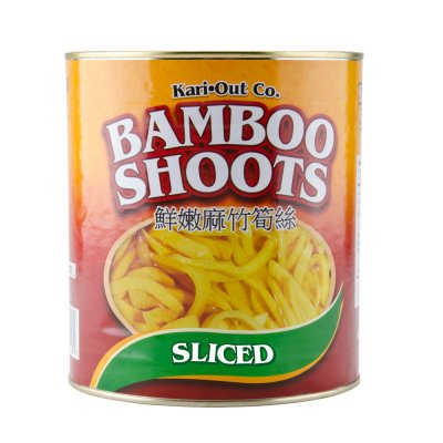Bamboo Shoots, Sliced