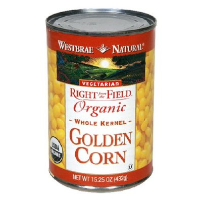 Golden Sweet Corn, with Sea Salt, Canned