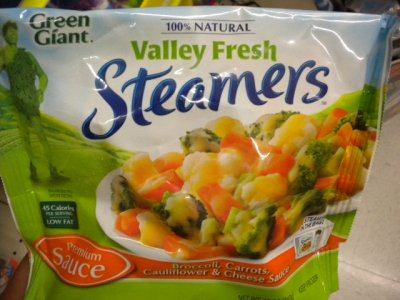 Valley Fresh Steamers Broccoli, Carrots, Cauliflower & Cheese