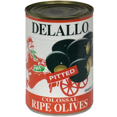 Colossal Ripe Olives, Pitted