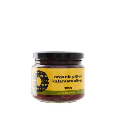 Olives, Organic, , Pitted, Kalamata