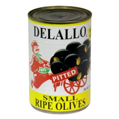 Pitted Ripe Olives - large