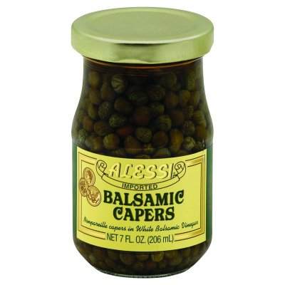 Balsamic Capers, Nonpareille Capers In White Balsamic Vinegar