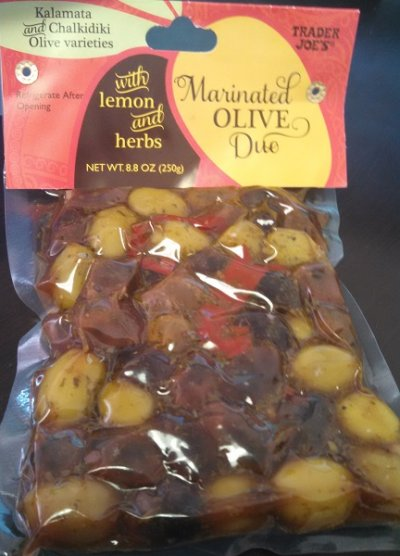 Marinated Olives Duo With Lemon And Herbs
