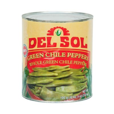 Green Chiles, Whole