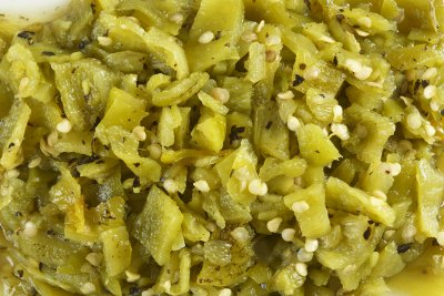 Roasted Green Chiles, Medium