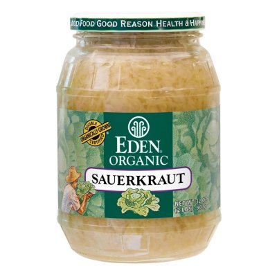 Sauerkraut - fine cut, Organic - glass jar