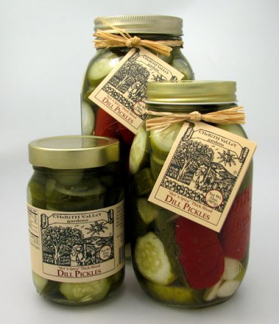 Gourmet Pickles, Spicy Garlic Originals