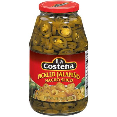 Jalapeno Nacho Slices, Pickled