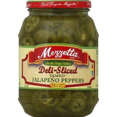 Jalapeno Peppers, Tamed, Deli-Sliced