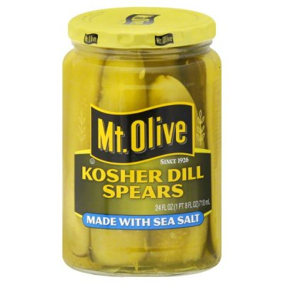 Kosher Dill, Made With Sea Salt