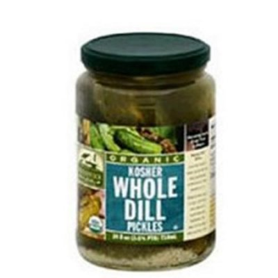 Whole Dill Pickles, Kosher