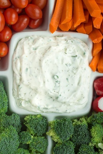 Yogurt Dressing, Salsa Ranch