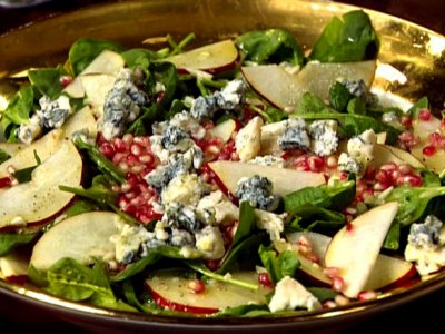 Champagne Pear Vinaigrette with Gorgonzola
