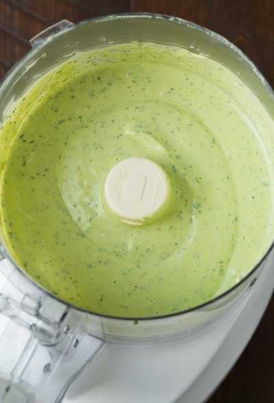 Greek Yogurt, Avocado Cilantro Dressing