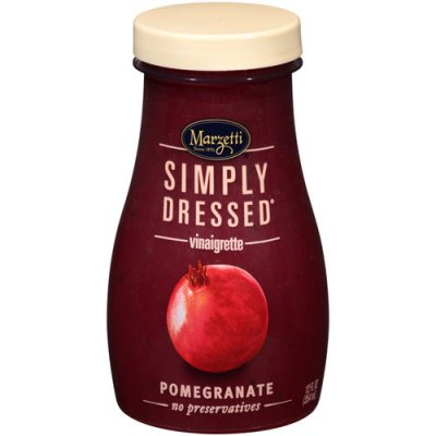 Simply Dressed Pomegranate