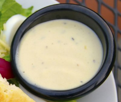 Garlic Lemon Caesar Dressing