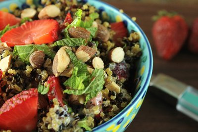 Greek Yogurt, Strawberry Poppyseed Dressing