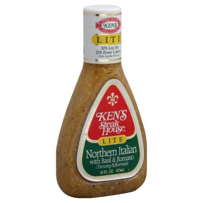 Dressing, Northern Italian with Basil & Romano, Lite