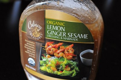 Dressing & Marinade, Lemon Ginger Sesame, Organic
