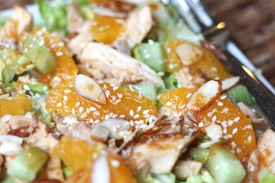 Dressing, Light Asian with Sesame & Ginger Vinaigrette