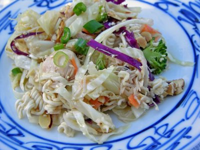Sesame Dressing for Chinese Chicken Salad