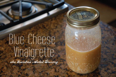 Dressing, Blue Cheese Vinaigrette