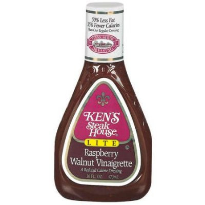 Lite Raspberry Walnut Vinaigrette Dressing