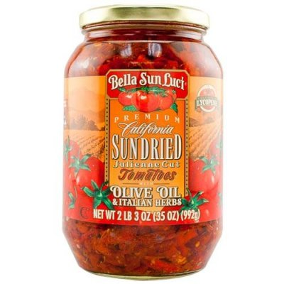 California Sundried Tomatoes With Olive Oil & Italian Herbs