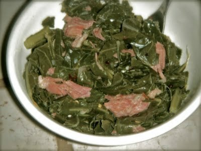 Collard Greens, Seasoned Southern Style