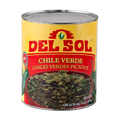 Diced Green Chile Peppers