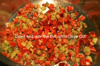 Diced Tomatoes, Spicy Red Pepper