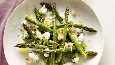 Spring Vegetables with Asparagus