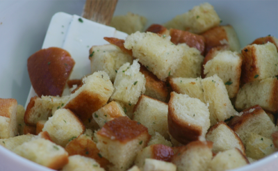 Croutons, Large Cut, Sea Salt & Pepper