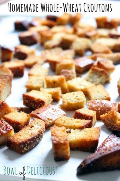 Croutons, Twice Baked, Whole Wheat