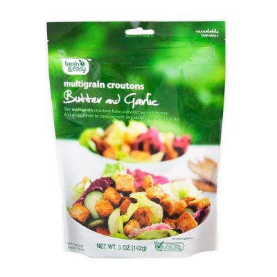 Garlic & Butter Flavored Large Cut Croutons