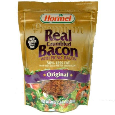 Crumbled Bacon, Real Bacon