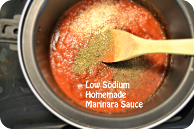 Low Fat Tuscano Marinara Sauce