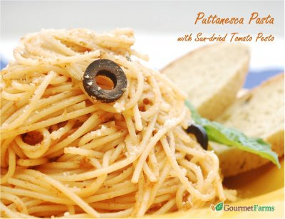 Select Pasta Sauce, Puttanesca
