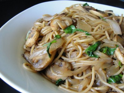 Pasta Sauce with Mushrooms