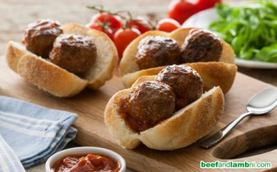 Meat Sauce, Mini-Meatball