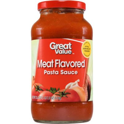 Pasta Sauce, Traditional, Meat Flavored