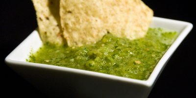 Roasted Garlic Salsa, Medium